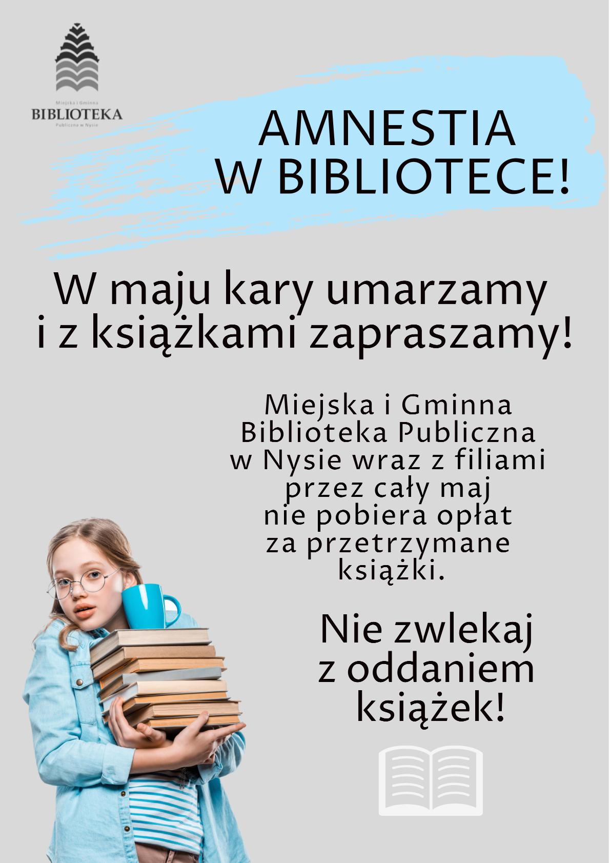 Amnestia w bibliotece - Gmina Nysa