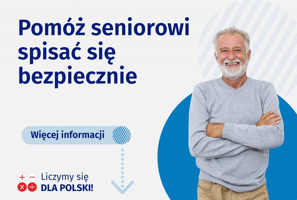 Pomóż Seniorowi spisać się bezpiecznie