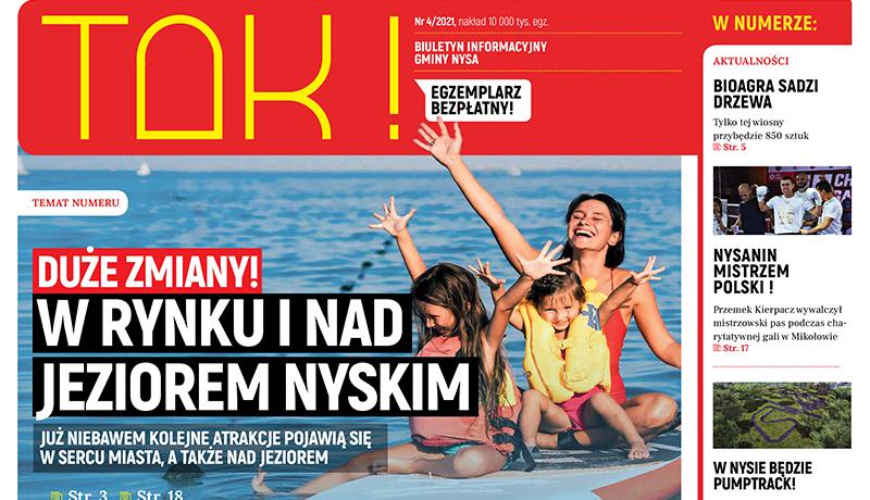 """Już jest! Nowy numer gazety """"TAK!"""""""