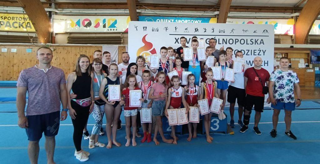 Gimnastycy z Nysy najlepsi w Polsce