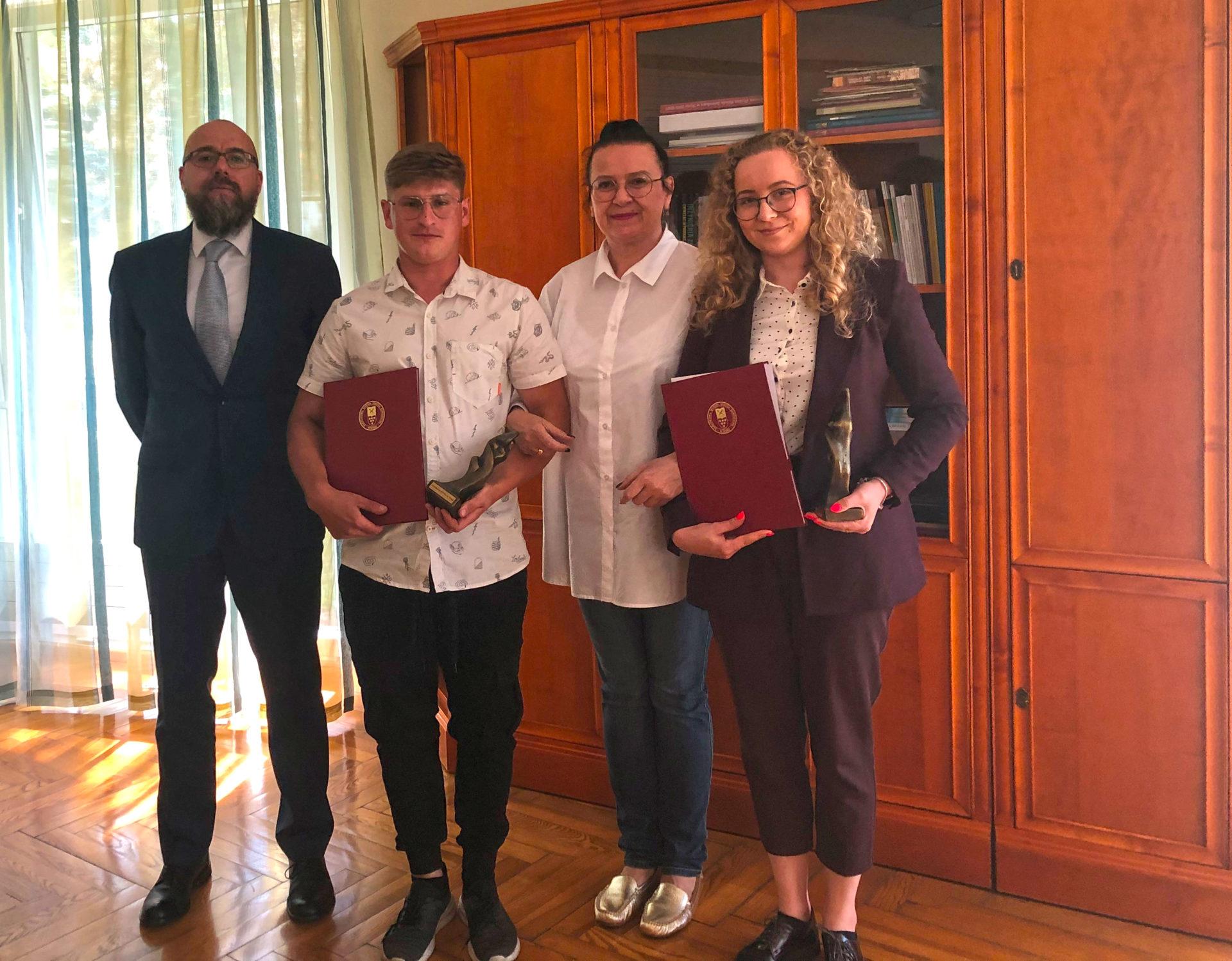 Nagrody dla najlepszych studentów PWSZ w Nysie