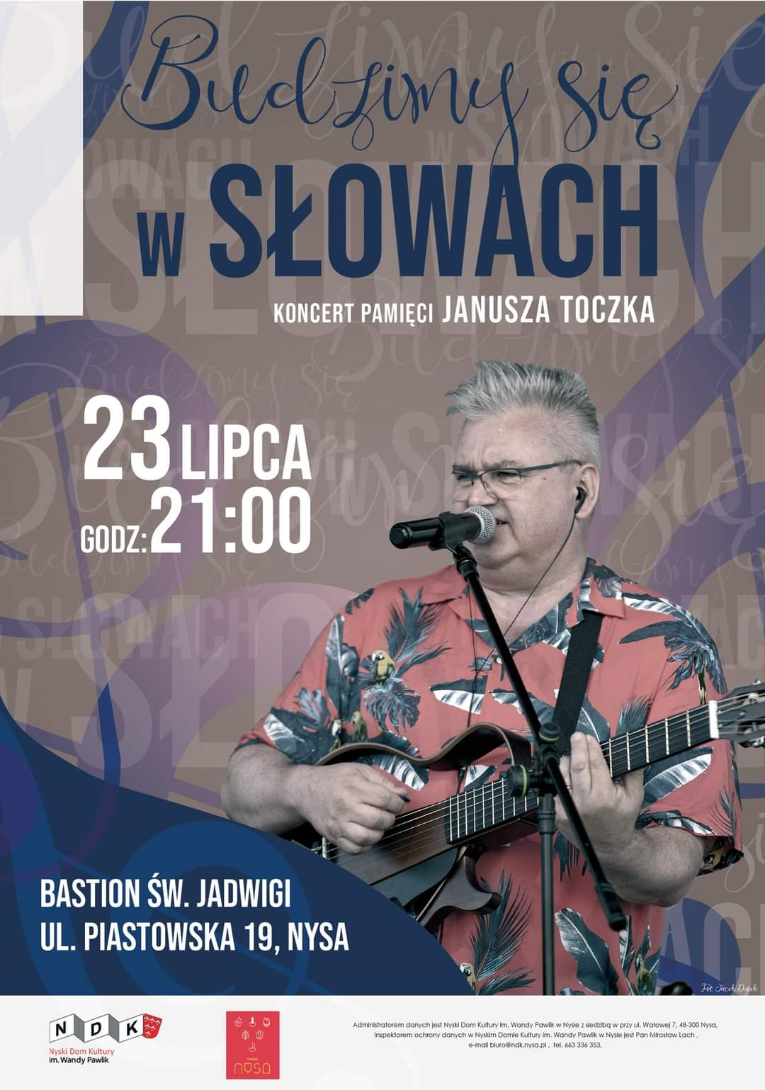 Koncert pamięci Janusza Toczka