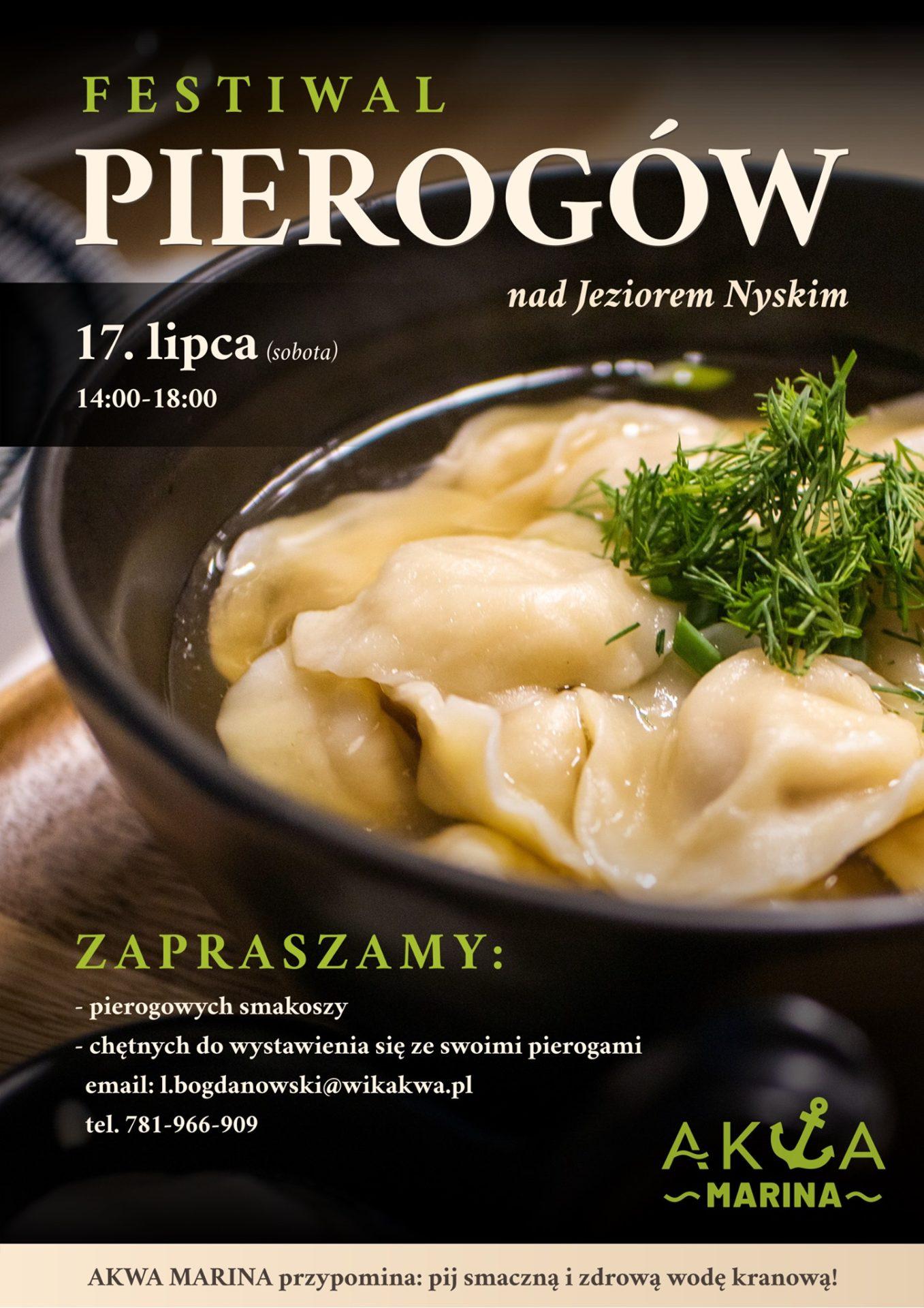 Festiwal Pierogów nad Jeziorem Nyskim