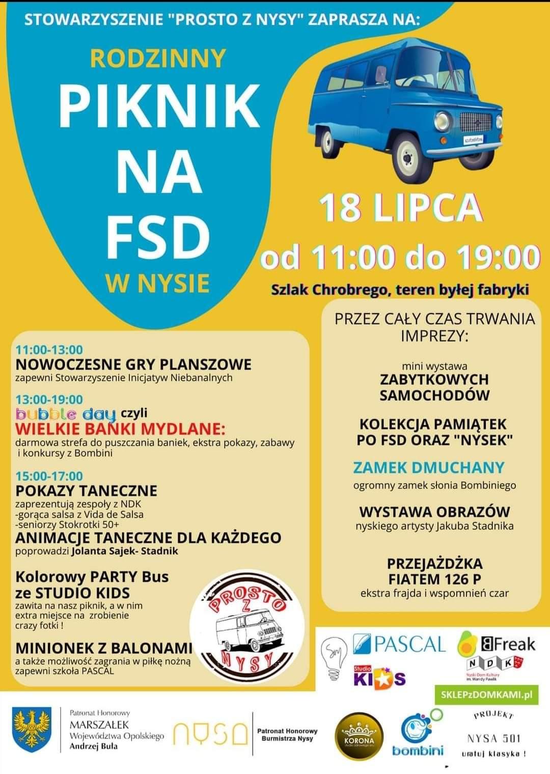 piknik na FSD plakat