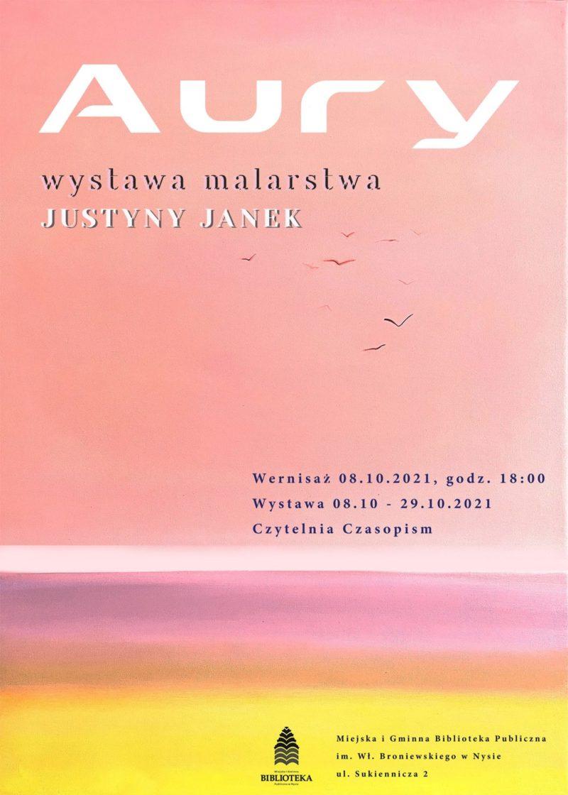 Wernisaż wystawy Justyny Janek AURY