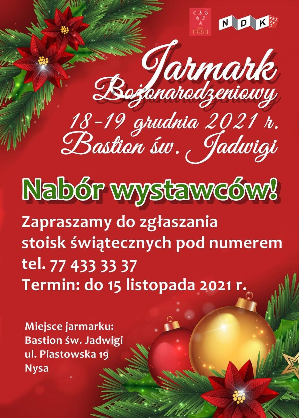 Jarmark Bożonarodzeniowy w Bastionie św. Jadwigi