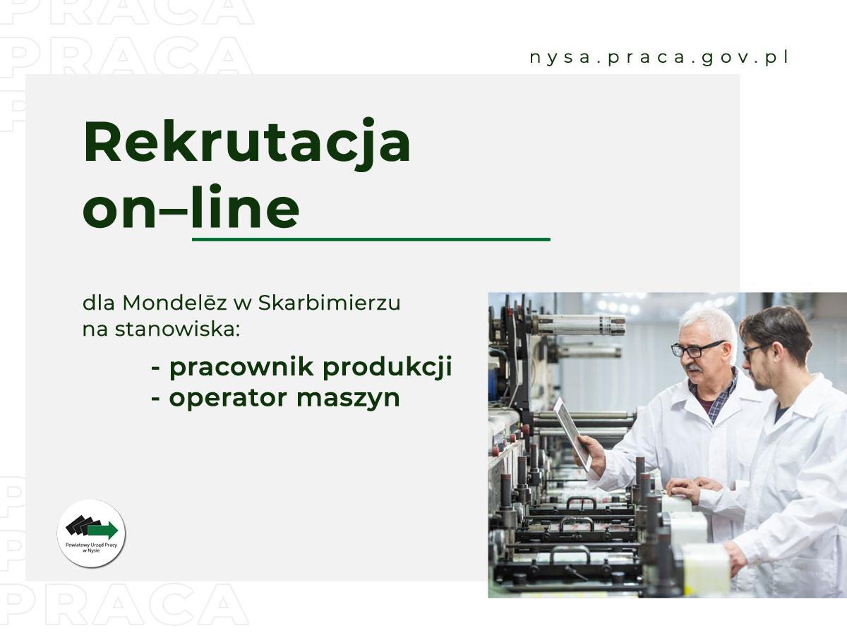 Rekrutacja on-line do firmy Mondelez