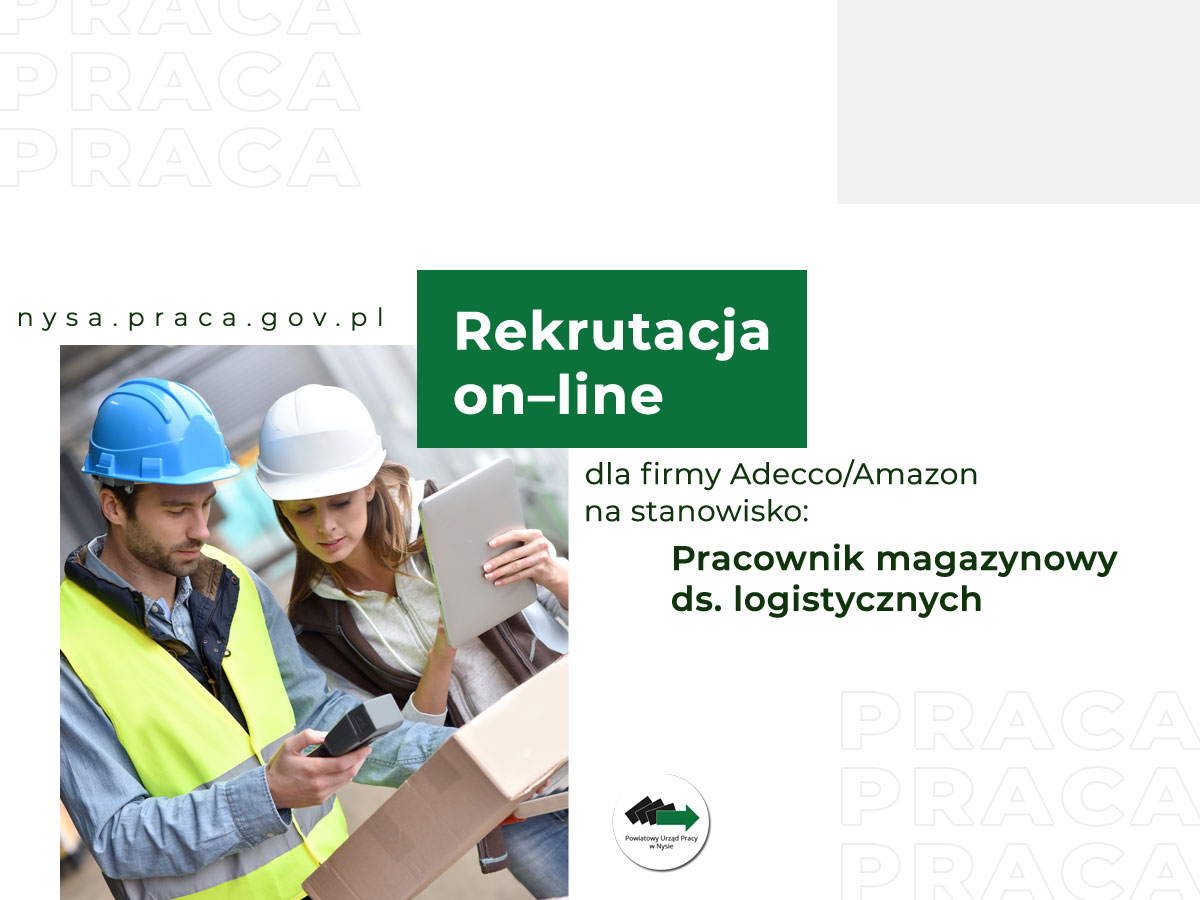 Rekrutacja do Adecco/Amazon