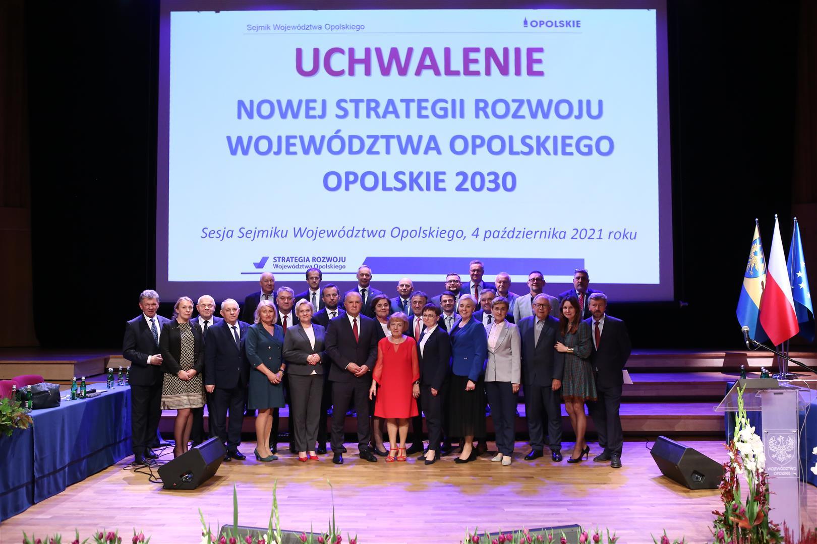 Strategia Rozwoju Woj. Opolskiego przyjęta jednogłośnie